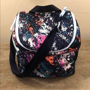Ivivva Time For Lunch Tote in Splatter Paint EUC